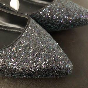 Black Sparkly Flats 🍂 AUTUMN SHOE SALE 🍂